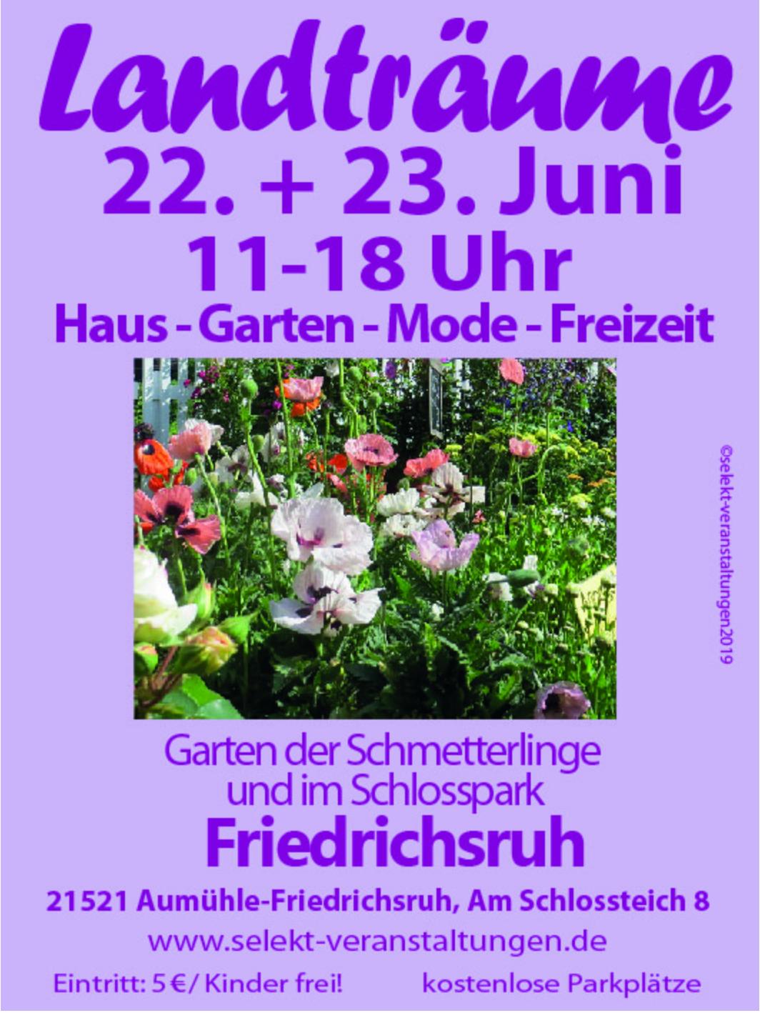 Landträume Friedrichsruh 2019