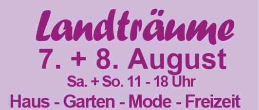 You are currently viewing Landträume im Garten der Schmetterlinge am 7. und 8. August